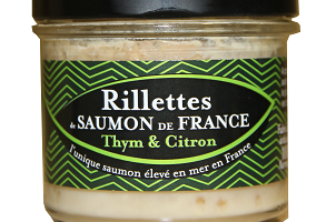 Saumon de France - Rillettes De Saumon De France Thym & Citron