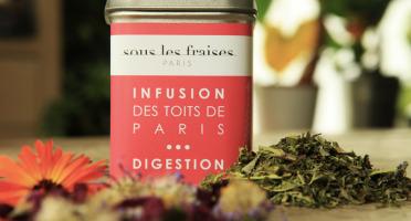 Sous les fraises - Epicerie des Toits de Paris - Infusion Digestion