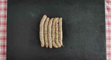 Ferme des Hautes Granges - Chipolatas 100% poulet aux herbes x 6
