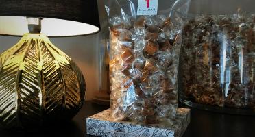 L'AMBR'1 Caramels et Gourmandises - Caramel Dégustation (mélange De 10 Parfums) - Sachet De 500g