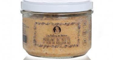 Les délices de Noémie - Petits Pots Bébé 8 mois: Lot de 6 Mouliné de Blette et Veau au Boulgour Bio
