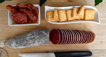 GAEC Villeneuve - Boeuf à la ferme - Sauciboeuf, Saucisson 100 % viande de boeuf