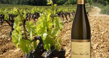 Château Saint Estève d'Uchaux - Cuvée Thérèse 2016 Blanc sec BIO - Vieilles Vignes de Viognier - AOP Côtes du Rhône Villages