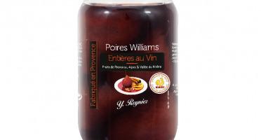 Conserves Guintrand - Poires Williams Entières Au Vin Aop Côtes Du Ventoux - Yr - Bocal 850ml