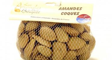 Les amandes et olives du Mont Bouquet - Amandes Françaises en coque 500g