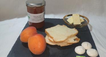 La Ferme du Montet - Confiture Extra d'abricots BIO - 220 g