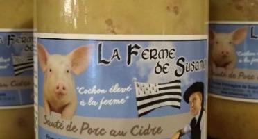 Tome de Rhuys - Sauté de Porc au Cidre