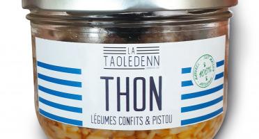 La Chikolodenn - Thon Aux Légumes Confits Au Pistou Sur Un Lit De Riz, Plat Individuel 280g