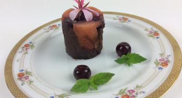 Christian Piot - Votre chef en ligne - Suprême de Reims Chocolat griottes