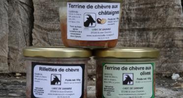 Mademoiselle Châtaigne - Lot de 3 terrines de chèvre