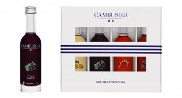 Cambusier, liqueurs artisanales françaises - Coffret Intemporel
