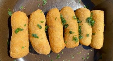 Les Saveurs d'Amatxi - Croquettes de jambon X25 surgelées