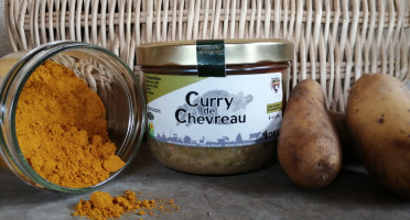 Ferme du caroire - Curry De Chevreau