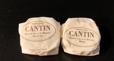 La Fromagerie Marie-Anne Cantin - Beurre Cru À La Baratte Doux - 75 Gr