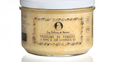 Les délices de Noémie - Petits Pots Bébé 8 Mois: Lot de 6 Mouliné de fenouil et pomme de terre à l'emmental Bio