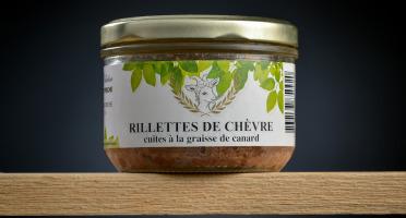 Le Petit Perche - Rillettes de Chèvre Cuites à la Graisse de Canard