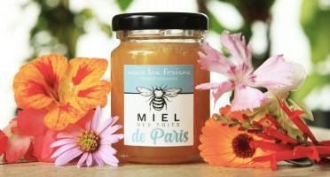 Sous les fraises - Epicerie des Toits de Paris - Miel de Fleurs des Toits de Paris