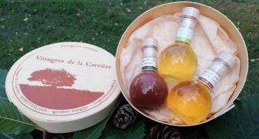Vinaigres de la Carrière - Coffret 3 Vinaigres