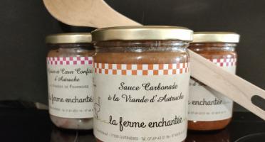 La Ferme Enchantée - Sauce Carbonade à la viande d'autruche 380 gr