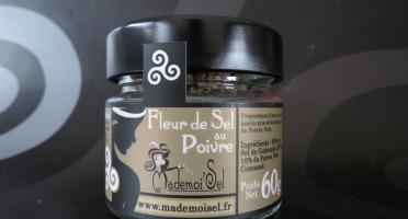 Le Panier à Poissons - Fleur De Sel Au Poivre, 100% Sel De Guérande