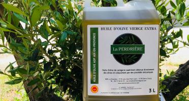 Spiruline des Oliviers - Huile D'olive Vierge Extra Aop Aix-en-Provence 3L