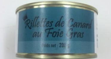 A la Truffe du Périgord - Rillettes De Canard Au Foie Gras