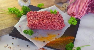 Michel et Alain Fermiers BIO - [SURGELÉ] Haché de bœuf BIO pour préparation - 400g
