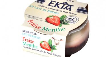BASTIDARRA - Douceur De Brebis - Fraise Menthe - 8 Pots