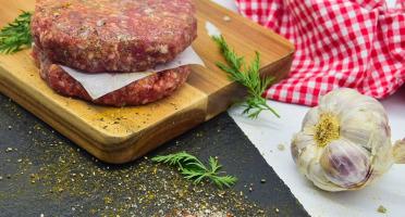 Michel et Alain Fermiers BIO - [SURGELE]  Steaks Hachés de Bœuf BIO – 2x120 g