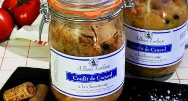 Alban Laban - Choucroute de canard au confit de canard