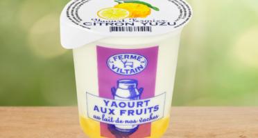 La Ferme de Viltain - Yaourt Citron-yuzu  x 9
