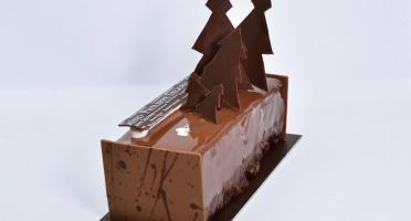 Philippe Segond MOF Pâtissier-Confiseur - Gâteau De Noël Marron-chocolat Sans Gluten