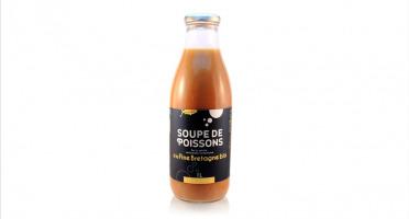 Conserverie artisanale de Keroman - Soupe De Poissons À La Fine De Bretagne Bio 1l