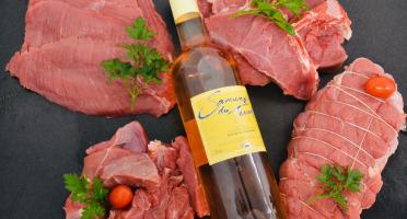 Les Délices de Vermorel - OCTOBRE ROSE : Colis familial de viande de veau Rouge des Prés + 1 bouteille de rosé offerte