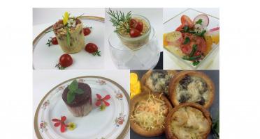 Christian Piot - Votre chef en ligne - Panier repas végétarien «menu tout tomate» 5 créations pour 2 personnes.