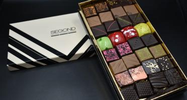 Philippe Segond MOF Pâtissier-Confiseur - Boite De Chocolats Artisanaux 480g
