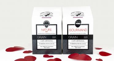 Cafés Factorerie - l'Alchimie Gourmande de Mr et Mme Arabica - GRAINS