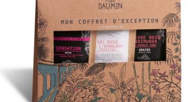 Epices Max Daumin - Coffret Noël Poivres - Retour D'inde (assemblage Sensation, Poivre Karimunda, Sel Rose)