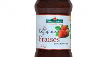 Les Côteaux Nantais - Compote Fraises 315g