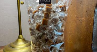 L'AMBR'1 Caramels et Gourmandises - Caramel A L'Orange Et Cannelle - Sachet De 500g