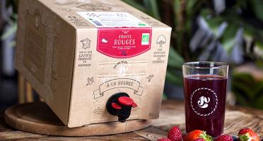 """Jus de fruits """"Ju"""" - Recette Fruits Rouges Des Bois - 5 Litres"""