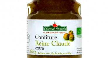 Les Côteaux Nantais - Confiture Reine Claude Extra 325g