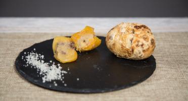Ferme de Pleinefage - Abricots farcis au foie gras entier x5