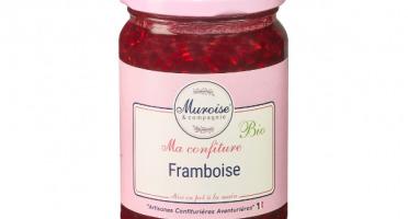 Muroise et Compagnie - Confiture de Framboise Bio - 350 gr