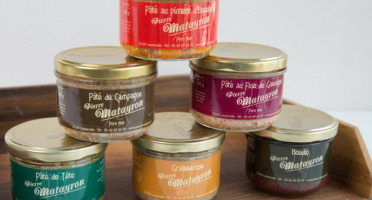 Pierre Matayron - Assortiment de 5 Pâtés de Porc Noir Gascon + un offert