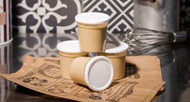Le Petit Atelier - Lot De 4 Pots De Crème Dessert Au Café