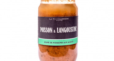 La Chikolodenn - Soupe De Poissons Et Langoustines Aux Algues (laitue De Mer, Dule, Nori) 750g (2-3 Personnes)