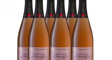 Champagne J. Martin et Fille - Brut Rosé - 6x75cl