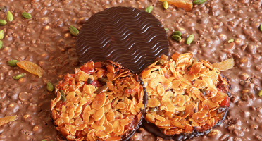 Philippe Segond MOF Pâtissier-Confiseur - 6 Florentins Au Chocolat Noir
