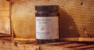 Les Ruchers de Normandie - Velours de Cassis au miel 460g
